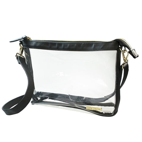Black Small Stadium Crossbody