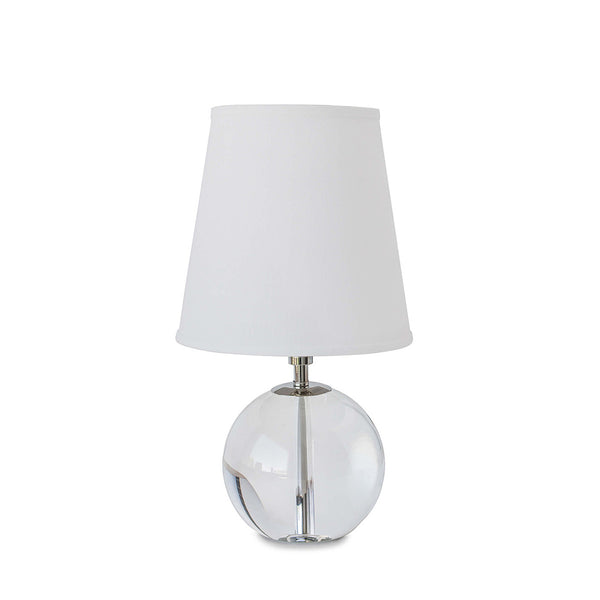 Mini Crystal Sphere Table Lamp