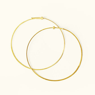 Carla Caruso Dainty Hoop Earrings