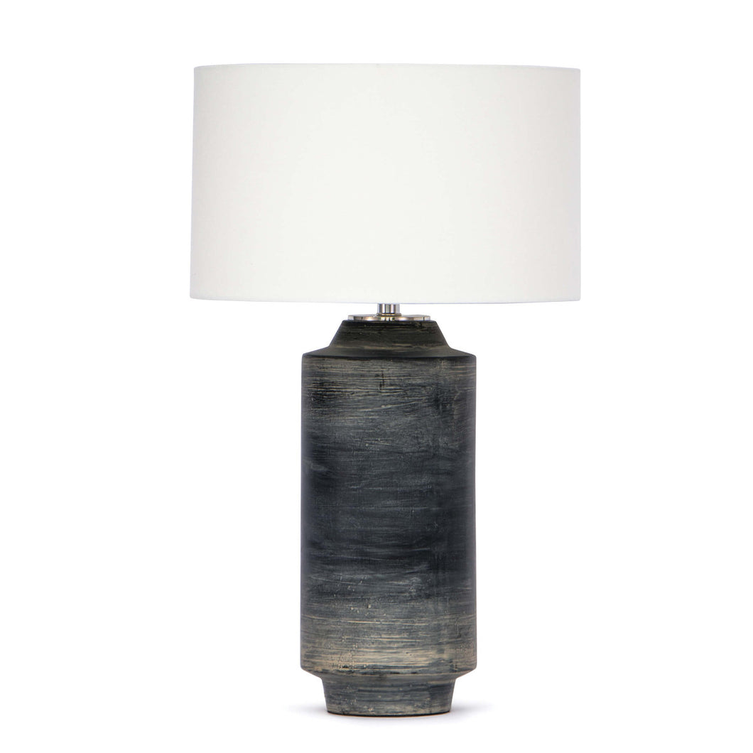 Brushed Ceramic Table Lamp