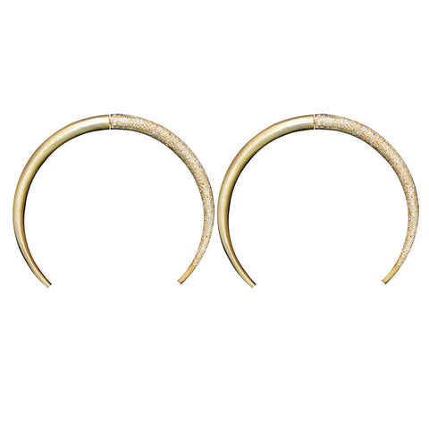 S. Carter Designs Double Tusk Earrings