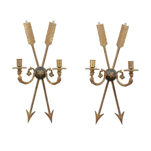 Pair of 18th Century Directoire Sconces