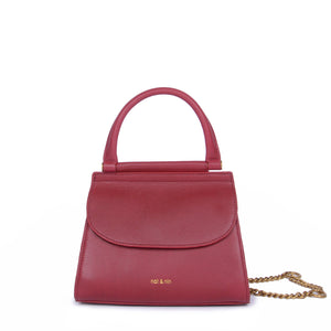 Dany Mini Bag in Cherry