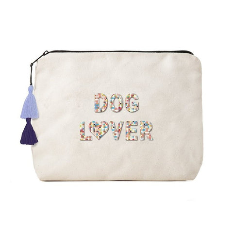 Dog Lover Bikini Bag Clutch