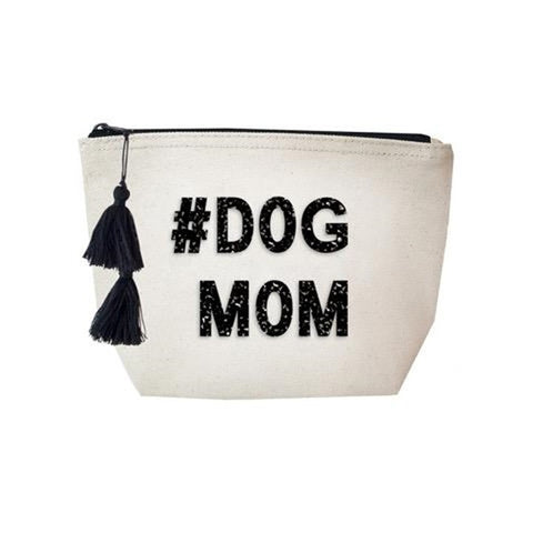 #Dog Mom Cosmetic Case