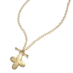 Louisa Guild Jewelry Dogwood Cross Necklace