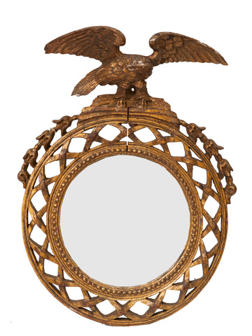 French Eagle Mirror