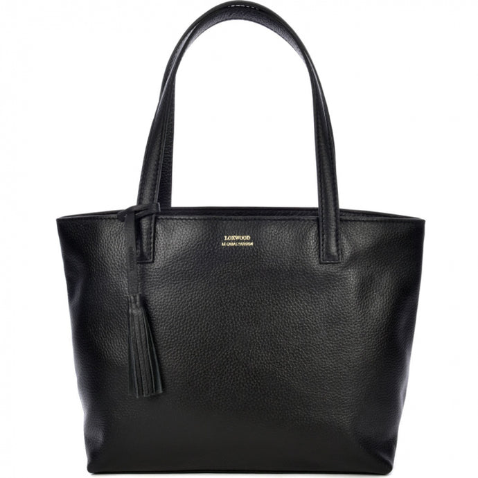 Loxwood Zippered Eden Bag in Licorice