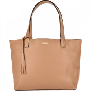 Loxwood Zippered Eden Bag in Beige