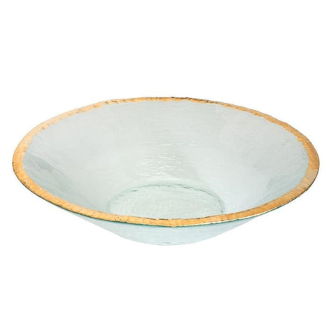 Annieglass Edgey Round Bowl