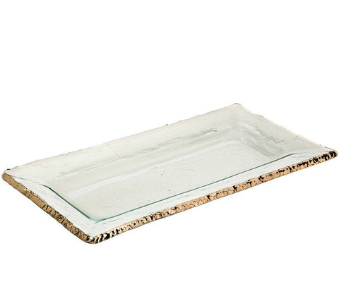 Annieglass Edgey Rectangular Tray