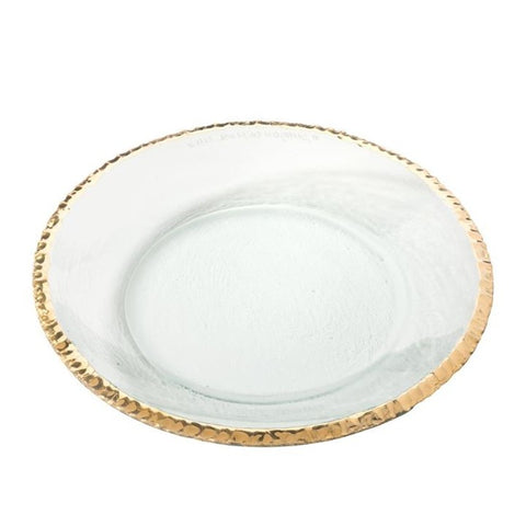 Annieglass Edgey Shallow Round Bowl