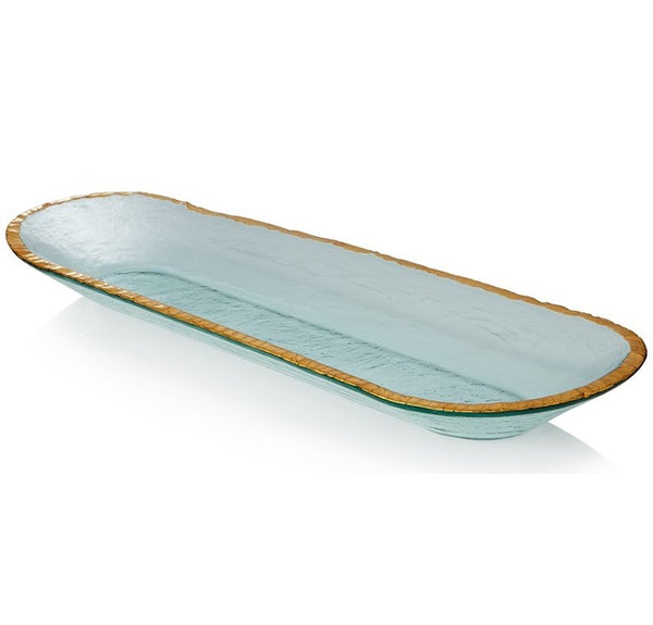 Annieglass Edgey Baguette Tray