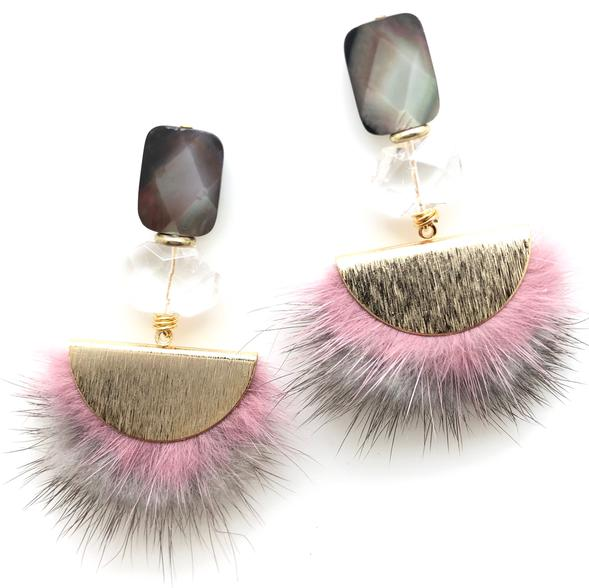 Shiver and Duke Ella Earrings