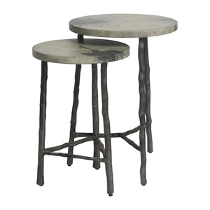 Iron Branch Side Tables
