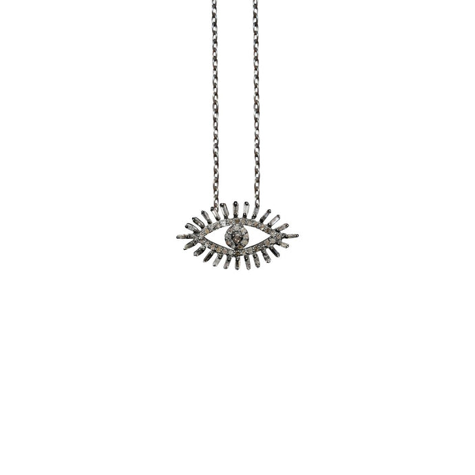 S. Carter Designs Evil Eye Charm Necklace