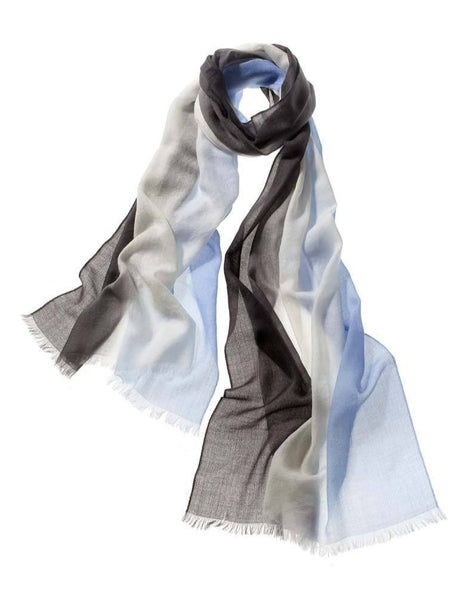 Ombre Scarf in Bayberry