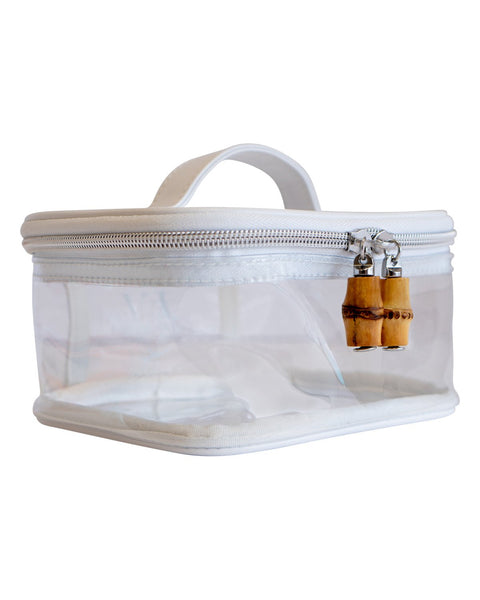 Clear Train Case