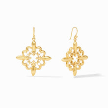 Load image into Gallery viewer, Julie Vos Fleur-de-Lis Lace Earrings