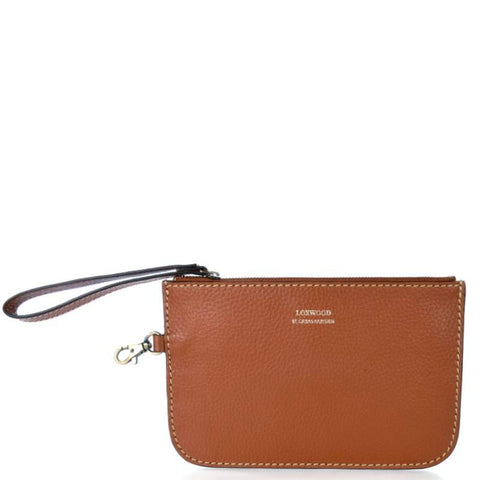 Loxwood Zippy Pouch in Brandy