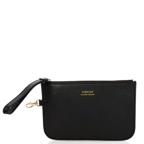 Loxwood Zippy Pouch in Black