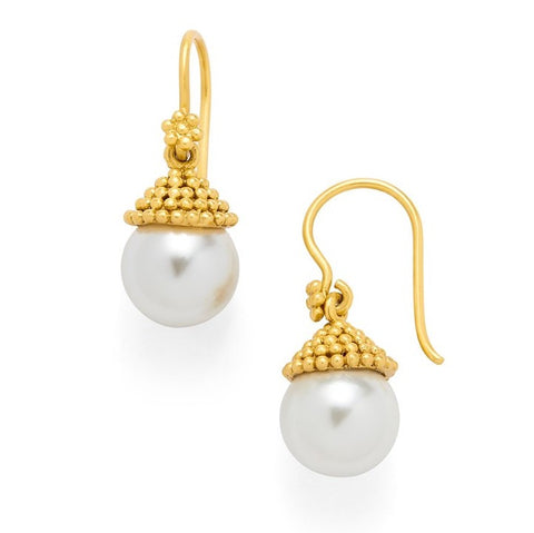 Julie Vos Florentine Pearl Earrings