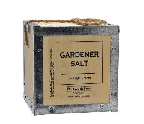 The French Farm Gardener Salt Box