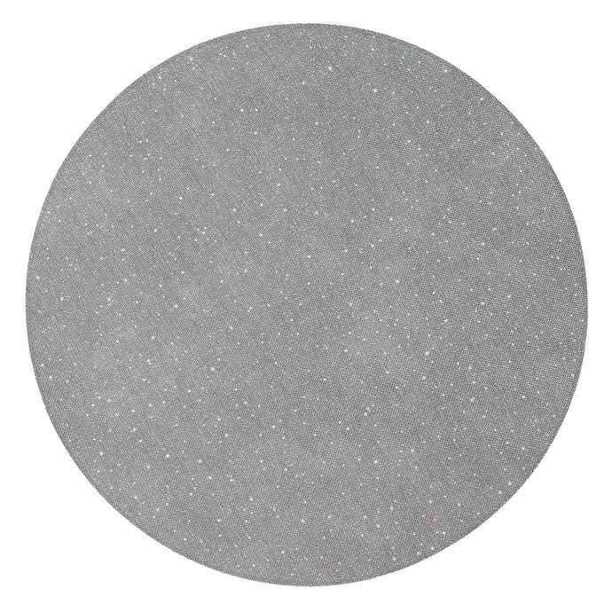 Silver Gem Round Place mat