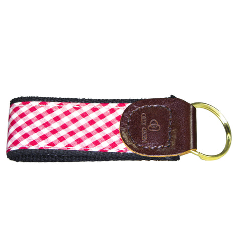 Olly Oxen Red and Black Key Fob