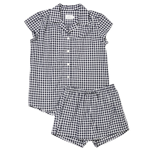 Gingham Luxe Pima Short Pajamas