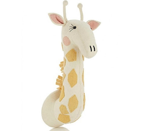 Fiona Walker England Girl Giraffe Wall Decor