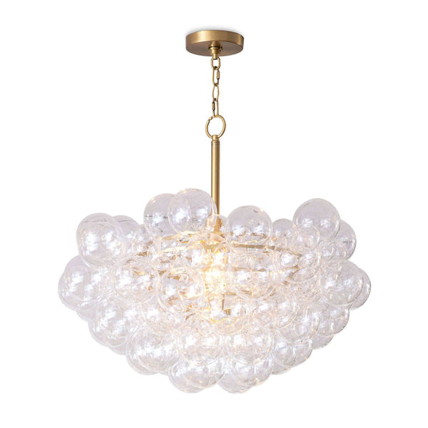 Gold Bubbles Chandelier