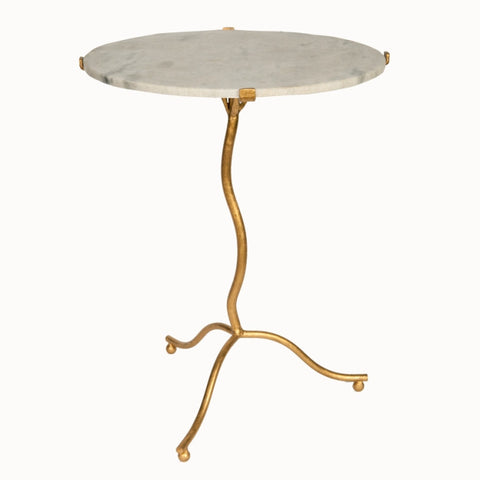 Gold Ocassional Table