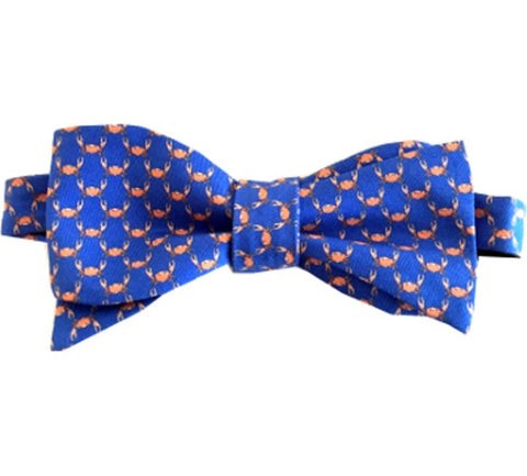 Lazyjack Press Gone Crabbin' Bow Tie