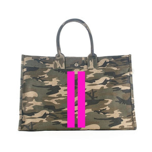 East-West Bag in Green Camo