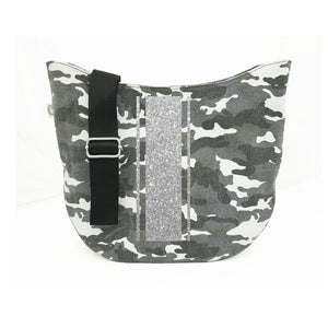 City Bag in Gray Camo