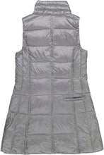 Load image into Gallery viewer, Long Nylon Vest in Gunmetal