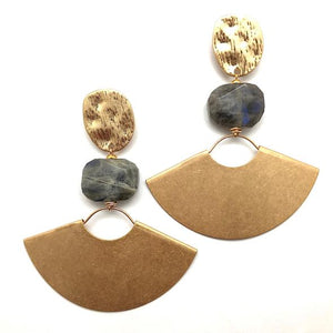 Shiver and Duke Hazel Earrings