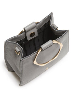 Hexa Crossbody Bag in Asphalt Gray