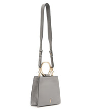 Load image into Gallery viewer, Hexa Crossbody Bag in Asphalt Gray