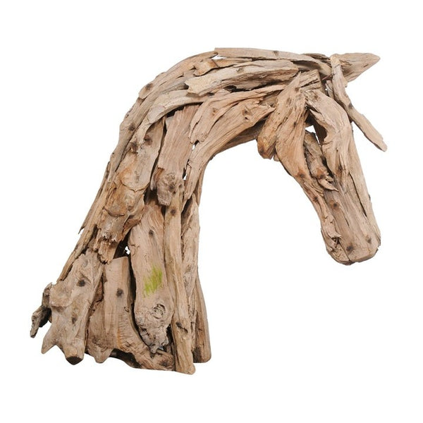 Rustic Horse Head Sculpture