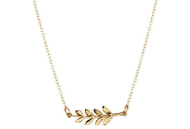 Louisa Guild Jewelry Olive Branch Necklace