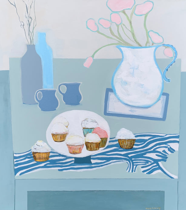 Anne Harney - Cupcakes and Tulips