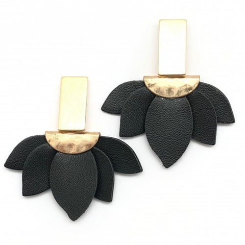 Shiver and Duke Iris Earrings
