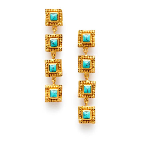 Julie Vos Isabel Gemstone Earrings