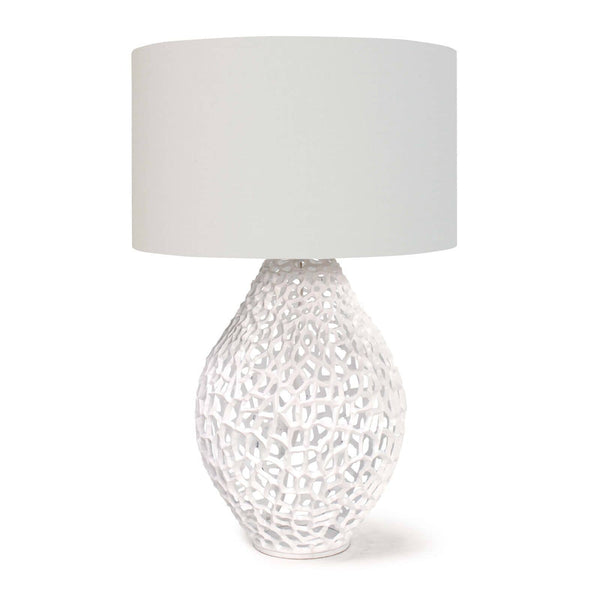 White Airy Table Lamp