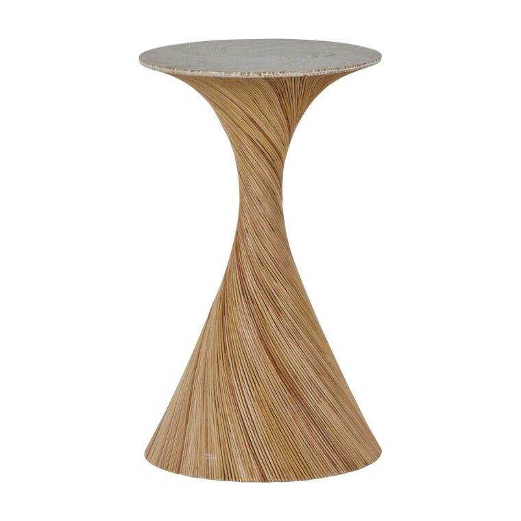 Rattan Drink Table