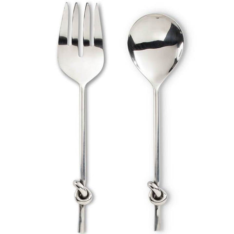 Knot Handle Salad Servers