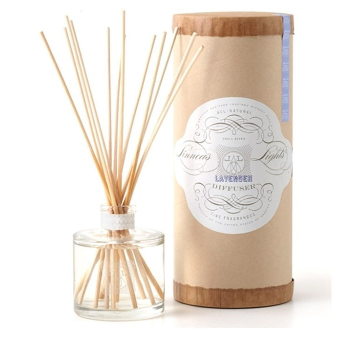 Linnea's Lights Lavender Diffuser and Reeds