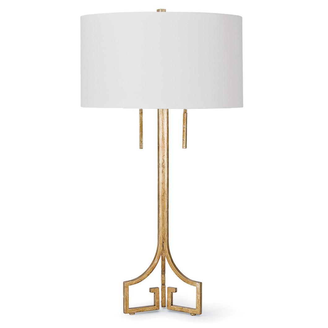 Greek Brass Table Lamp